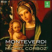 Monteverdi: Selva Morale e Spirituale - Claudine Perrin (alto); Ensemble Vocal et Instrumental de Lausanne; Eric Tappy (tenor); Francois Loup (bass);...