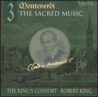 Monteverdi: The Sacred Music, Vol. 3 - Carolyn Sampson (soprano); Charles Daniels (tenor); Daniel Auchincloss (tenor); James Gilchrist (tenor); Peter Harvey (bass);...