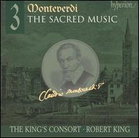Monteverdi: The Sacred Music, Vol. 3 - Carolyn Sampson (soprano); Charles Daniels (tenor); Daniel Auchincloss (tenor); James Gilchrist (tenor); Peter Harvey (bass);...