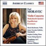 Moravec: Violin Concerto; Shakuhachi Quintet; Equilibrium; Evermore
