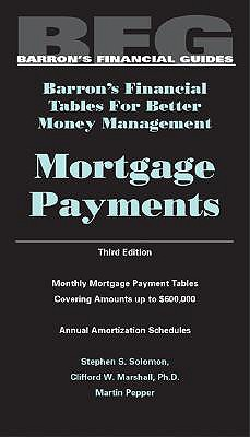 Mortgage Payments - Solomon, Stephen, M.S., and Pepper, Martin (Photographer)