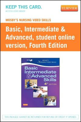 Mosby's Nursing Video Skills: Student Online Version (Access Card) - Mosby