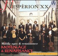 Moyen Âge & Renaissance - Andrew Lawrence-King (harp); Daniele Carnovich (bass); Elisabetta Tiso (soprano); Francesc Garrigosa (tenor); Hespèrion XX;...