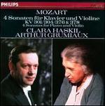 Mozart: 4 Sonaten für Klavier und Violine