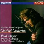 Mozart, Busoni, Copland: Clarinet Concertos