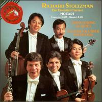 Mozart: Clarinet Concerto; Clarinet Quintet - English Chamber Orchestra (chamber ensemble); Kazuhide Isomura (viola); Kikuei Ikeda (violin); Peter Oundjian (violin);...