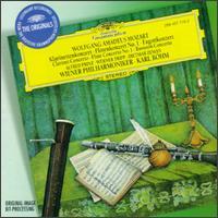 Mozart: Clarinet Concerto; Flute Concerto No. 1; Bassoon Concerto - Alfred Prinz (clarinet); Dietmar Zeman (bassoon); Werner Tripp (flute); Wiener Philharmoniker