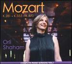 Mozart: Complete Piano Sonatas Vol. 1 - K. 281, K. 333, K. 570