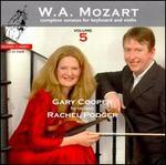 Mozart: Complete Sonatas for Keyboard & Violin, Vol. 5