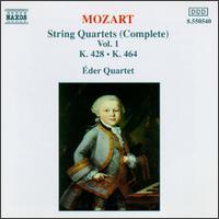 Mozart: Complete String Quartets, Vol. 1 - Eder Quartet