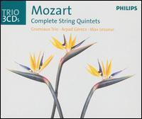 Mozart: Complete String Quintets - Arpad Gérecz (violin); Grumiaux Trio; Max Lesueur (viola)