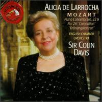 Mozart: Concerto No. 22, K482; Concerto No. 26, K537 - Alicia de Larrocha (piano); English Chamber Orchestra (chamber ensemble); Colin Davis (conductor)