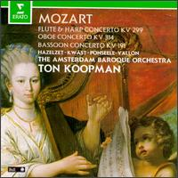 Mozart: Concertos for Flute, Harp, Bassoon & Oboe - Marc Vallon (bassoon); Marcel Ponseele (oboe); Saskia Kwast (harp); Wilbert Hazelzet (flute); Amsterdam Baroque Orchestra;...