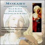 Mozart: Concertos for violin No5; Concertos for violin No2
