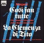 Mozart: Cos? fan tutte; La Clemenza di Tito (Transcriptions for Wind Octet)