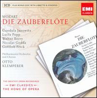 Mozart: Die Zauberflote - Agnes Giebel (vocals); Anna Reynolds (vocals); Christa Ludwig (vocals); Elisabeth Schwarzkopf (vocals); Franz Crass (vocals);...