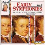 Mozart: Early Symphonies, Vol. 1
