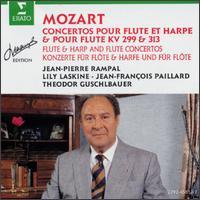 Mozart: Flute & Harp Concertos KV 299 & 313 - Jean-Pierre Rampal (flute); Lily Laskine (harp); Wiener Symphoniker; Jean-Fran�ois Paillard Chamber Orchestra