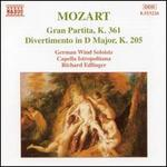 Mozart: Gran Partita / Divertimento in D