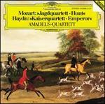 Mozart: Jagdquartett (Hunt); Haydn: Kaiserquartett (Emperor)
