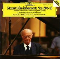 Mozart: Klavierkonzerte Nos. 20 & 12 - Rudolf Serkin (piano); London Symphony Orchestra; Claudio Abbado (conductor)