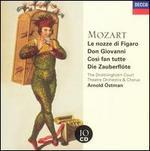 Mozart: Le nozze di Figaro; Don Giovanni; Così Fan Tutte; Die Zauberflöte