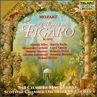 Mozart: Le Nozze di Figaro - Alastair Miles (bass); Alessandro Corbelli (baritone); Alfonso Antoniozzi (bass); Barbara Pease Renner (fortepiano);...