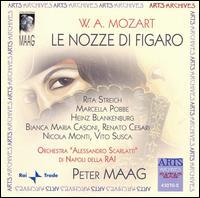 Mozart: Le Nozze di Figaro - Amilcare Blaffard (tenor); Bianca Maria Casoni (mezzo-soprano); Elvina Ramella (soprano); Fernanda Cadoni (mezzo-soprano);...