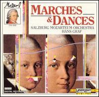 Mozart: Marches and Dances - Salzburg Mozarteum Orchestra; Hans Graf (conductor)
