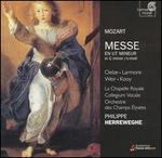 Mozart: Messe in C minor  - Christiane Oelze (soprano); Jennifer Larmore (soprano); Marc Vallon (bassoon); Marcel Ponseele (oboe);...