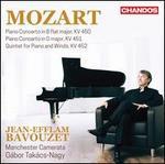 Mozart: Piano Concerto in B flat major, KV 450; Piano Concerto in D major, KV 451; Quintet for Piano and Winds, KV 45