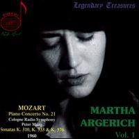 Mozart: Piano Concerto No. 21; Sonatas - Martha Argerich (piano); WDR Sinfonieorchester Köln; Peter Maag (conductor)