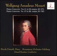 Mozart: Piano Concerto No. 9; Piano Concerto No. 27 - Nicola Frisardi (piano); Salzburg Mozarteum Orchestra; Gerard Korsten (conductor)