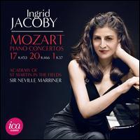 Mozart: Piano Concertos Nos. 17 K. 453, 20 K. 466, 1 K. 37 - Ingrid Jacoby (candenza); Ingrid Jacoby (piano); Lili Kraus (candenza); Paul Badura-Skoda (candenza);...