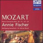 Mozart: Piano Concertos Nos. 20-23