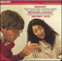 Mozart: Piano Concertos Nos. 20, KV466 & 21, KV467 - Mitsuko Uchida (piano); English Chamber Orchestra; Jeffrey Tate (conductor)
