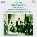 Mozart: Piano Quintet, K452; Adagio and Rondo, K617; Beethoven: Quintet for Piano and Winds, Op. 16