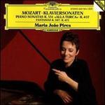 Mozart: Piano Sonatas K.331 & 457; Fantasias K.397 & 475 - Maria João Pires (piano)