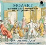 """Mozart: Quintette Avec Clarinette K 581; Trio """"Les Quilles"""" K 489"""
