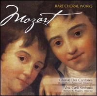 Mozart: Rare Choral Works - Amanda Dawn Ortolani (soprano); Br. Paul Norman (bass); Christine Helfrich (soprano); David Chalmers (organ);...