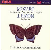Mozart: Requiem; Ave verum corpus; Haydn: Te Deum - Gerhard Eder (bass); Kurt Equiluz (tenor); Members of the Vienna State Opera Chorus; Vienna State Opera Orchestra;...