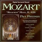 Mozart: Requiem Mass, K.626 - Jason Balla (tenor); Sandra Graham (alto); Ursula Mann (soprano); William Diana (bass baritone); Slovak Philharmonic Orchestra & Chorus (choir, chorus); Slovak Philharmonic Orchestra & Chorus