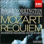 Mozart: Requiem; Maurerische Trauermusik; Ave Verum Corpus
