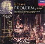 Mozart: Requiem - Arleen Augér (soprano); Cecilia Bartoli (mezzo-soprano); René Pape (bass); Vinson Cole (tenor); Wiener Philharmoniker; Vienna State Opera Concert Chorus (choir, chorus); Georg Solti (conductor)
