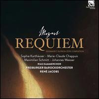 Mozart: Requiem - Johannes Weisser (baritone); Marie-Claude Chappuis (alto); Maximilian Schmitt (tenor); Sophie Karthäuser (soprano);...