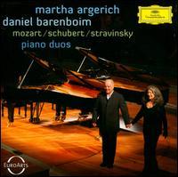Mozart, Schubert, Stravinsky: Piano Duos - Daniel Barenboim (piano); Martha Argerich (piano)