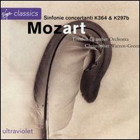 Mozart: Sinfonie concertanti, K364 & 297b - Christopher Warren-Green (violin); Gordon Hunt (oboe); Meyrick Alexander (bassoon); Michael Collins (clarinet);...