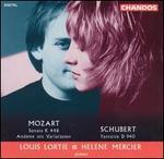 Mozart: Sonata K. 448; Andante mit Variationen; Schubert: Fantaisie D. 940