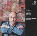 Mozart: Sonate; Fantasia; Variazioni; Suite