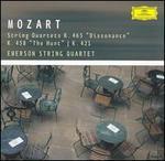 "Mozart: String quartets K. 465 ""Dissonance"", K. 458 ""The Hunt"" & K. 421"